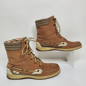 Sperry Hikerfish Leather Boat Shoe Boots